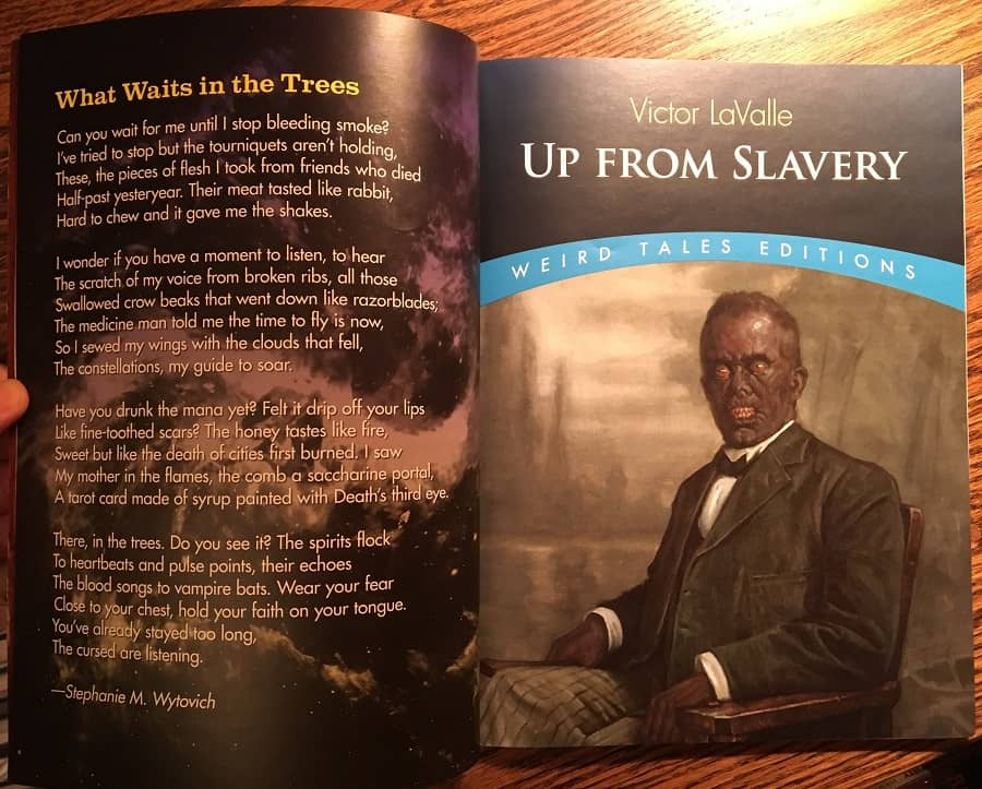 Weird Tales 363 Up From Slavery-small