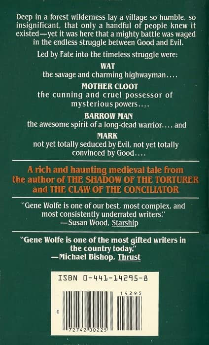 A Devil in a Forest Gene Wolfe-back-small