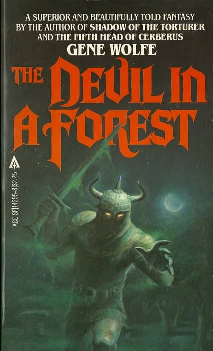 A Devil in a Forest Gene Wolfe-small