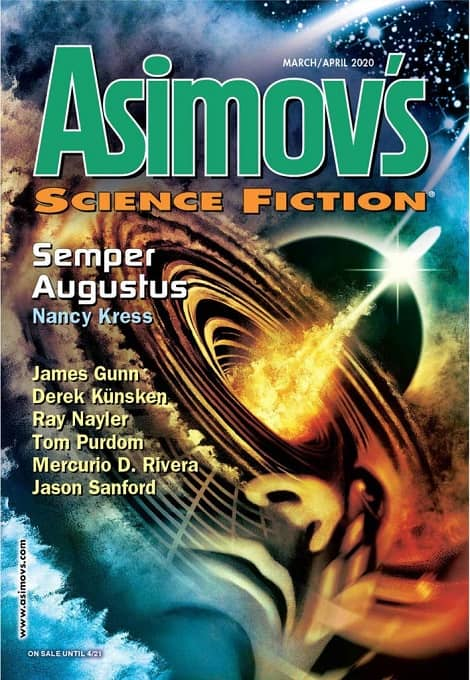 Asimov's Science FIction March April 2020-small