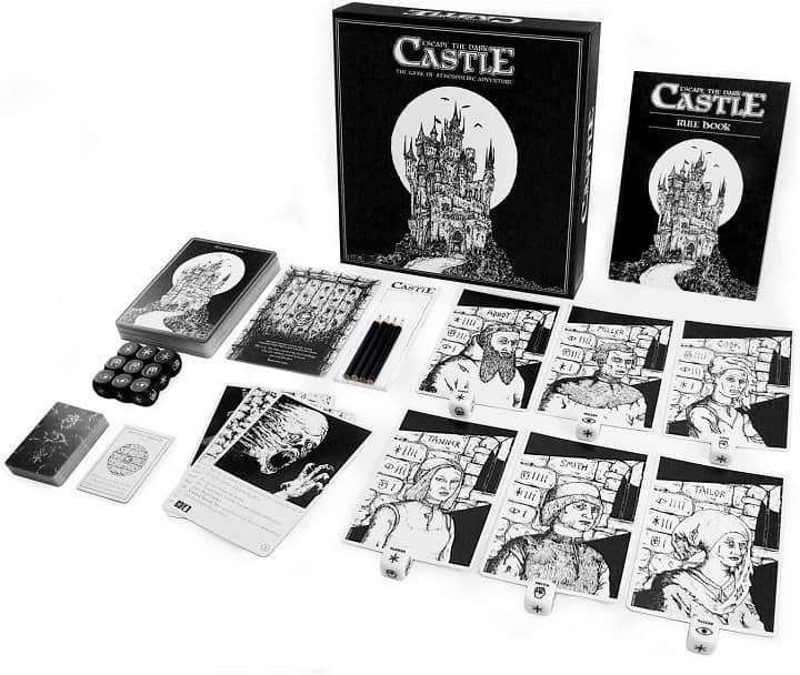 Escape from the Dark Castle contents-small