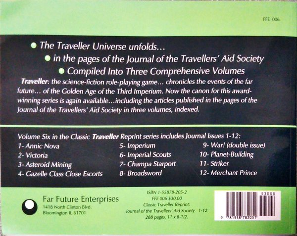 Far Future Enterprises Journal of the Travellers Aid Society- Issues 1-12-back-small