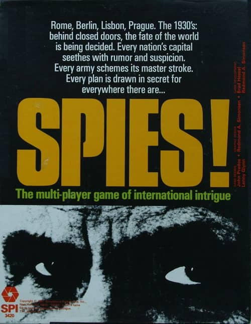 SPI board game Spies-small