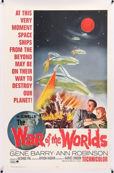 The War of the Worlds 1953 poster-small
