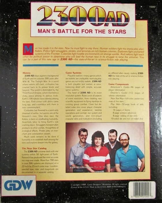 2300 AD Man's Battle for the Stars-back-small