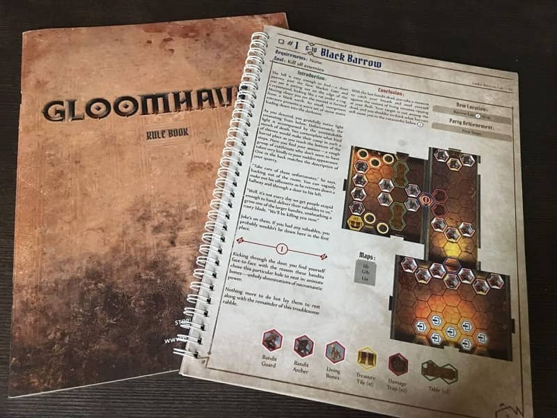 Gloomhaven rulebook-small