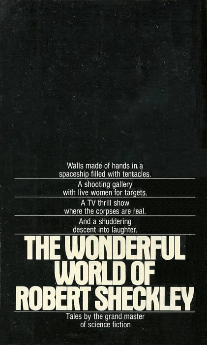 The Wonderful World of Robert Sheckley-back-small