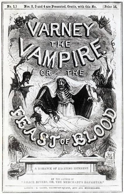 (1) Varney the Vampire or the Feast of Blood-small