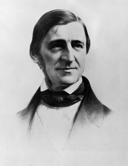 (4) Ralph Waldo Emerson. Smart man-small