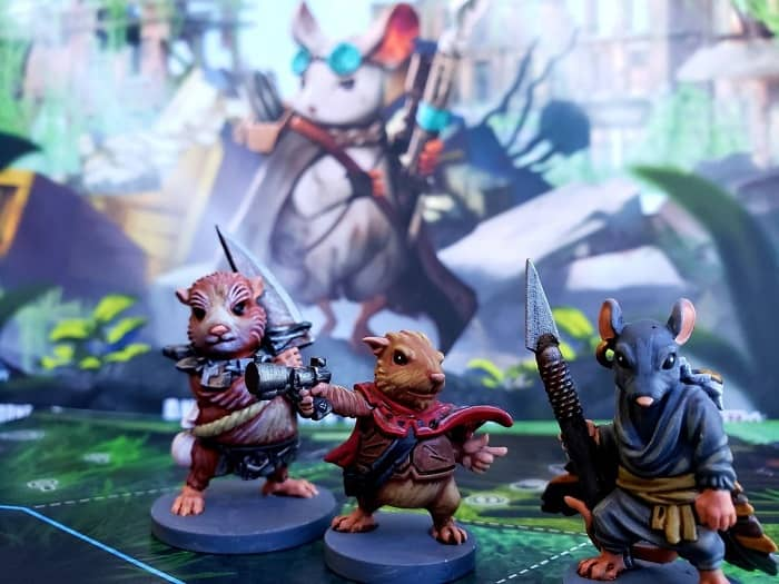 Aftermath Board Game minis by Nobeerblues