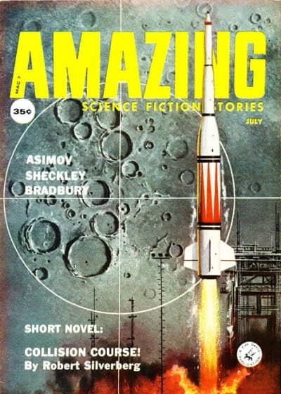 Amazing Science Fiction Stories July 1959