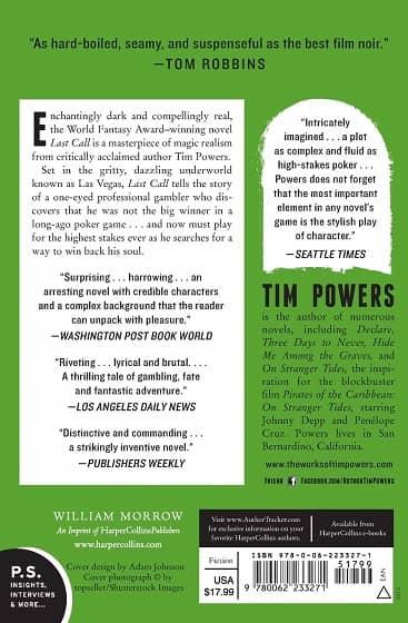 Last Call Tim Powers pb-back-small