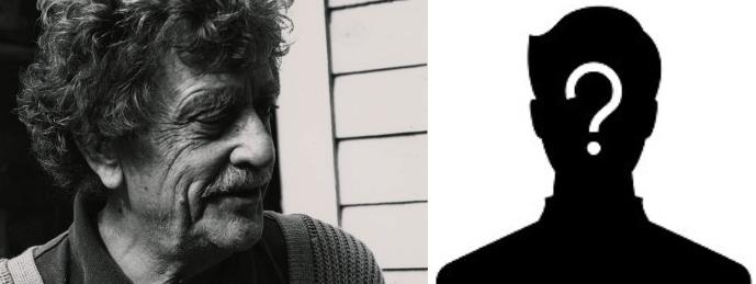 Vonnegut and friend