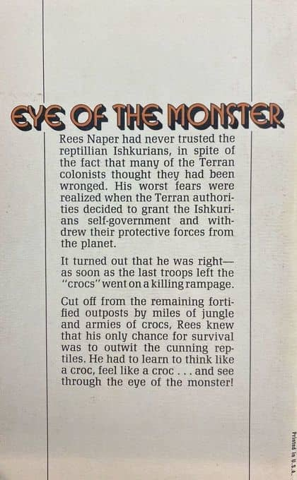 Eye of the Monster Andre Norton Ace-back-small