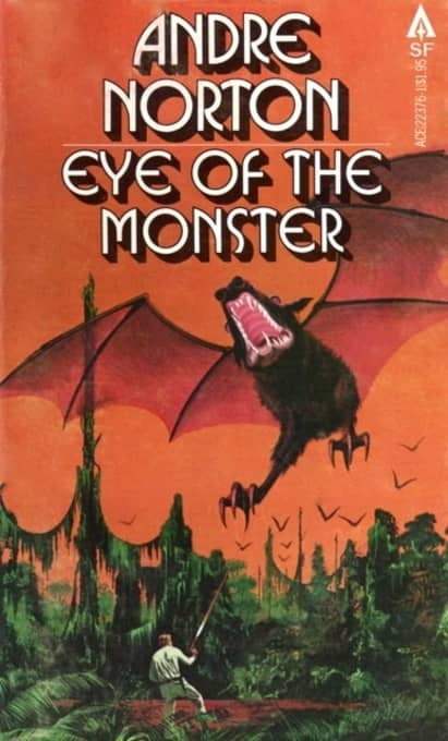 Eye of the Monster Andre Norton Ace-small