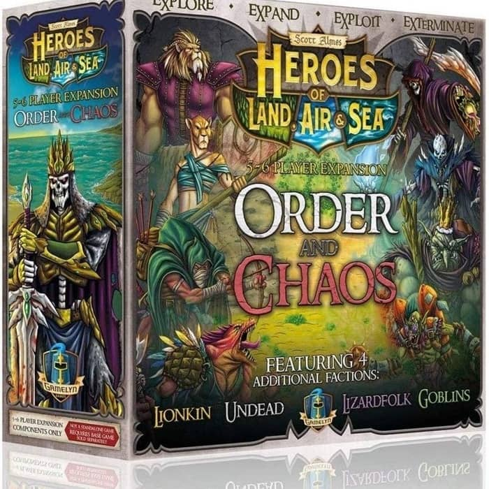 Heroes of Land, Air & Sea Order and Chaos Expansion-small