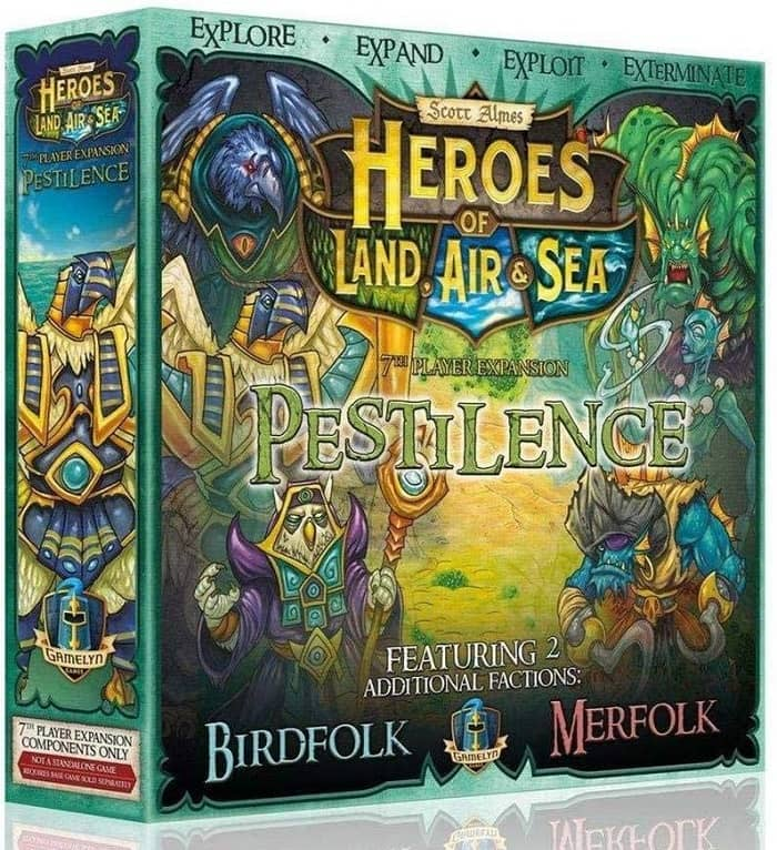 Heroes of Land, Air & Sea Pestilence Expansion-small