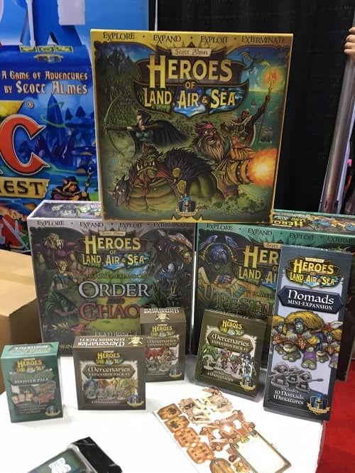 Heroes of Land, Air & Sea at Gen Con 2020 2-small