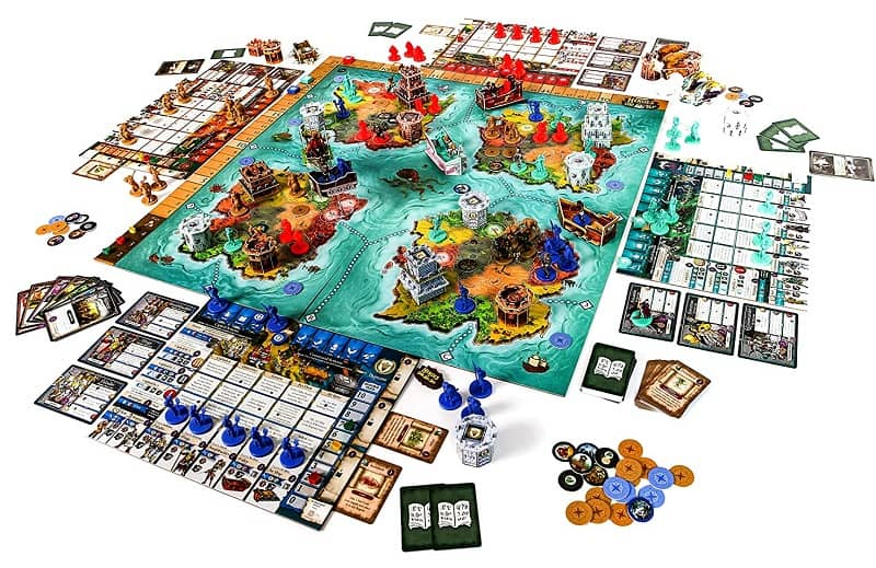 Heroes of Land, Air & Sea-map-small