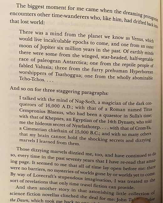 Robert Silverberg on Lovecraft - from Time and Time Again-small