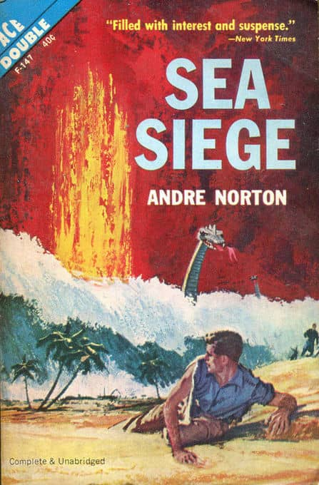 Sea Siege Andre Norton Ace Double-small