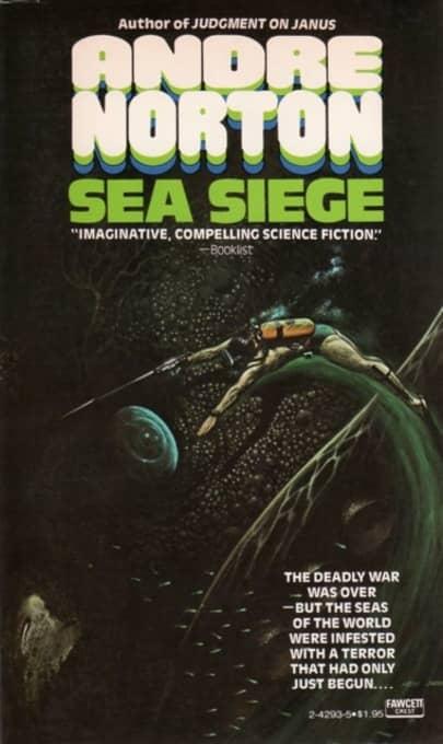Sea Siege Andre Norton Fawcett Crest-small