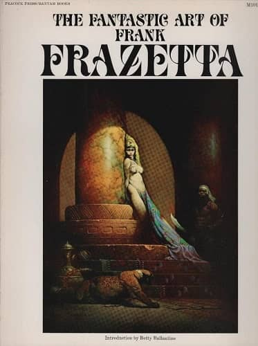 The Fantastic Art of Frank Frazetta Book One-small