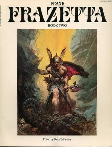 The Fantastic Art of Frank Frazetta Book Two