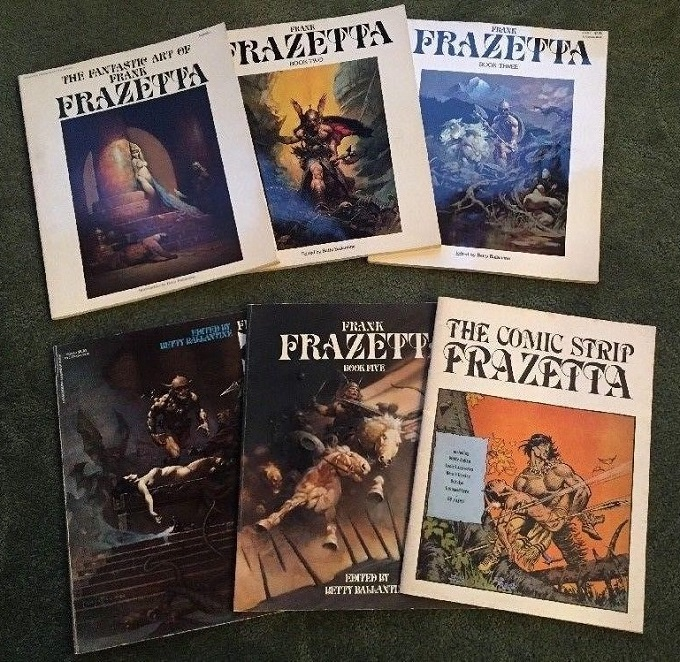 The Fantastic Art of Frank Frazetta-small