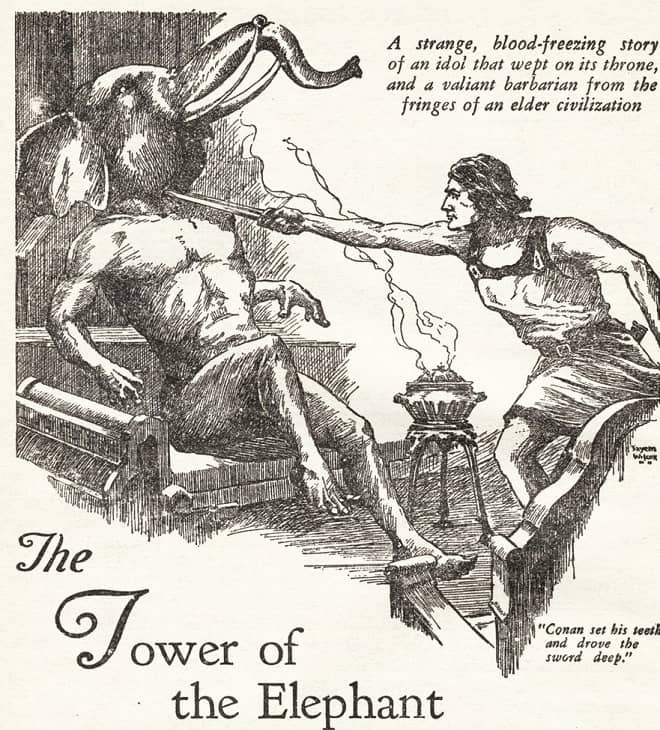 The Tower of the Elephant Weird Tales-small