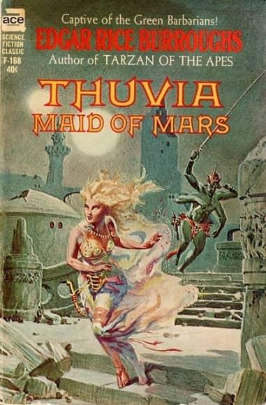 Thuvia Maid of Mars-small