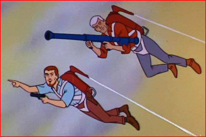 (9) Jetpacks and Bazookas