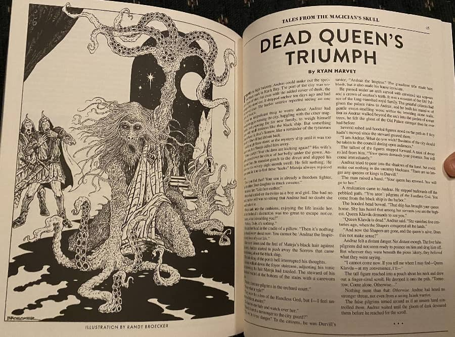 Dead Queen's Triumph Tales from the Magician's Skull 4-small