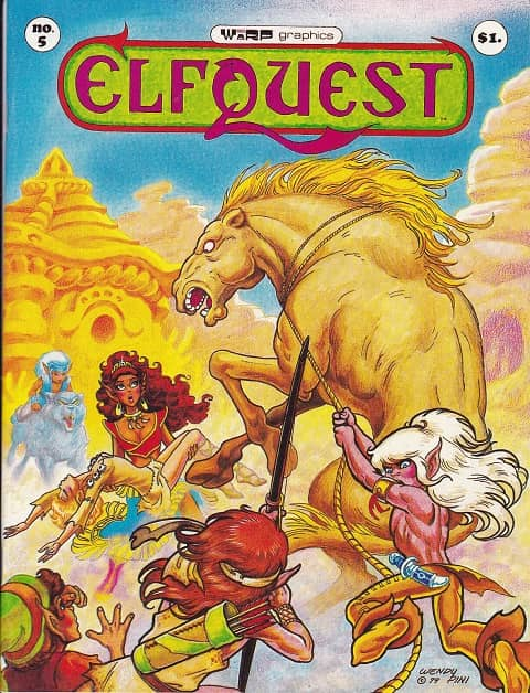 Elfquest issue 5-small