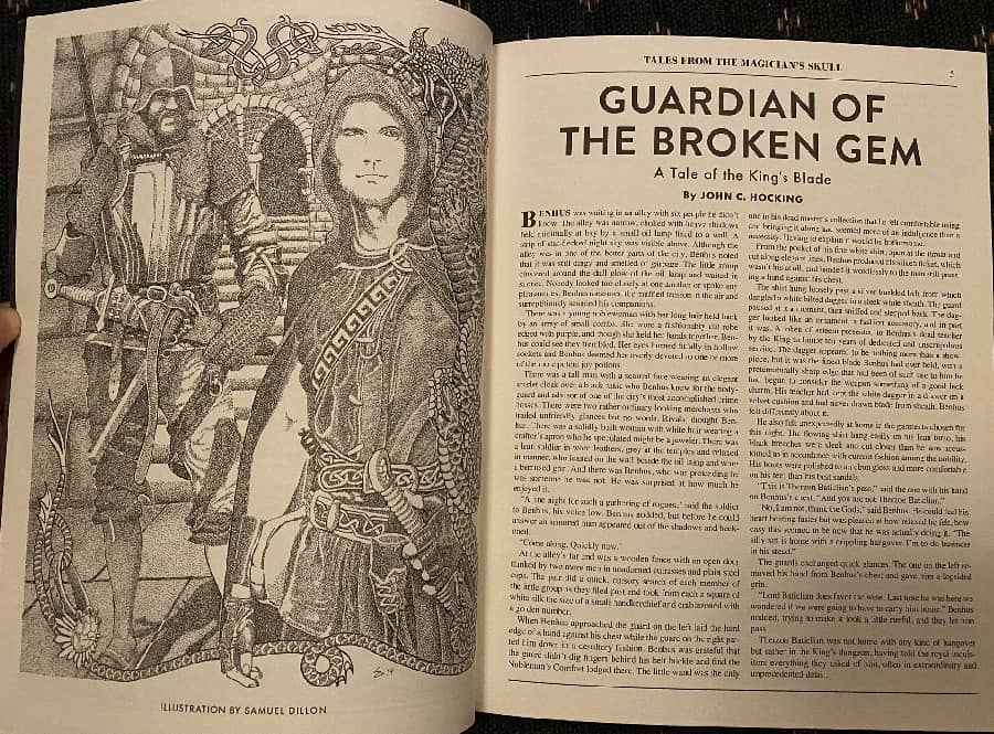 Guardian of the Broken Gem Tales from the Magician's Skull 4-small