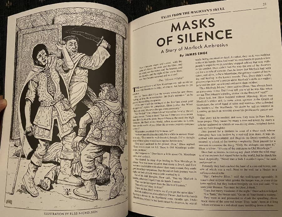 Masks of Silence Tales from the Magician's Skull 4-small