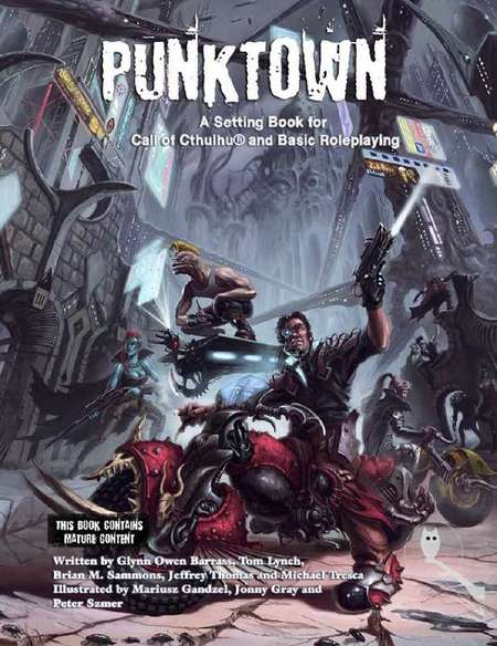 Punktown setting for Call of Cthulhu-small