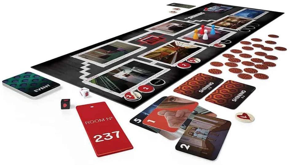 The Shining Board Game-board