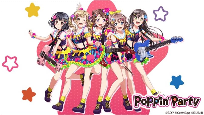 3B - Poppin' Party