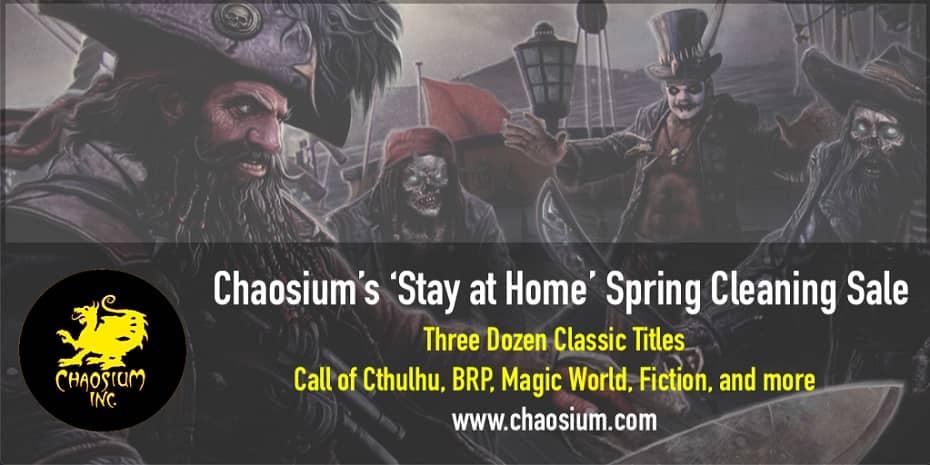 Chaosium sale