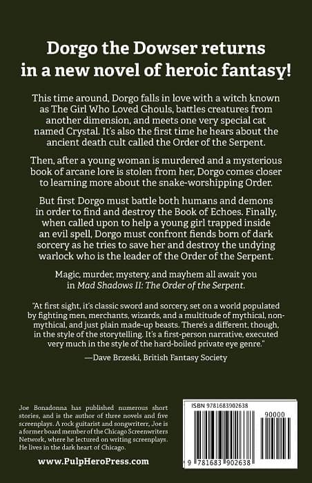 Dorgo the Dowser and the Order of the Serpent-back-small