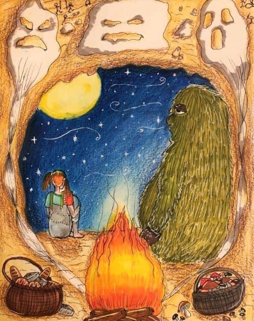 Illustration by Katherine, aged 10