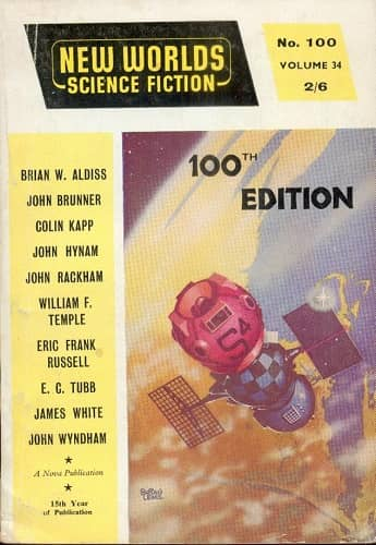 New Worlds Science Fiction #100 November 1960-small