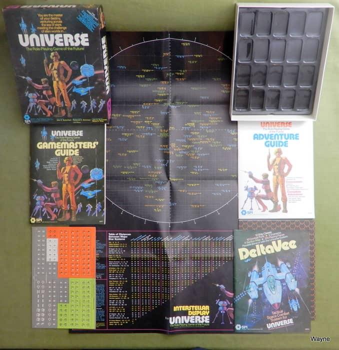 SPI Universe box contents