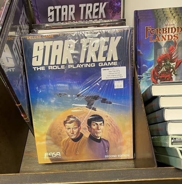 Star Trek The Role Playing Game Deluxe Second Edition-small