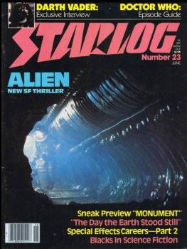 Starlog cover