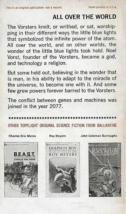 Ballantine Books To Open the Sky Richard Powers-back-small