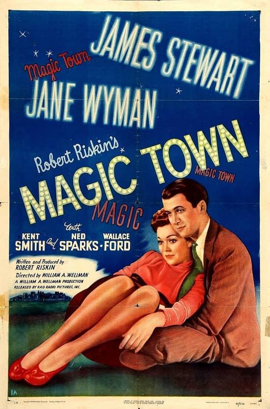 James Stewart Magic Town 1947-small