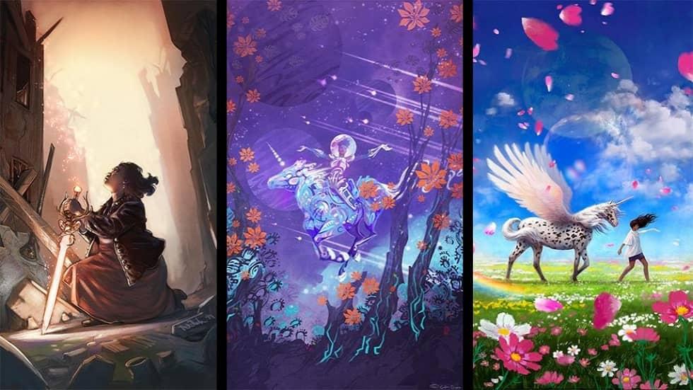 Kickstarter Cover Collage