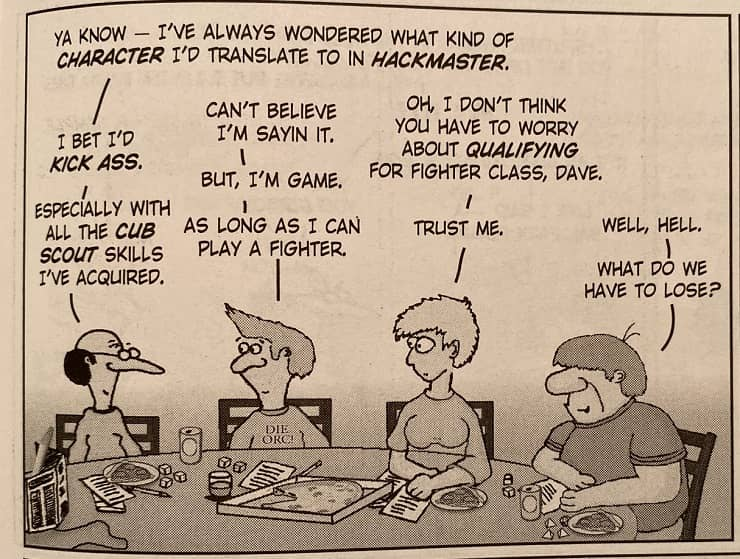 Knights of the Dinner Table 273 panel 5-small